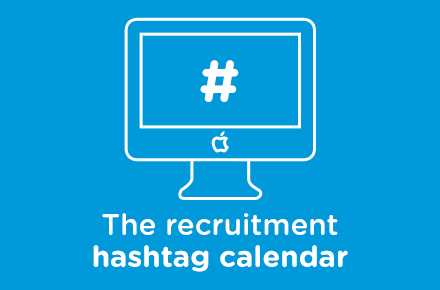 The Recruitment Hashtag Calendar